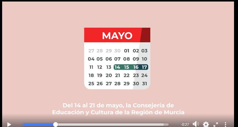Camapaña publicitaria de la Consejería de Educación y Cultura de la Región de Murcia