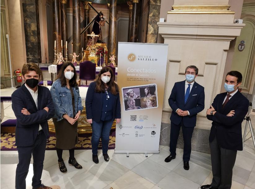 Presentación del proyecto 'Conectados desde el Salzillo'